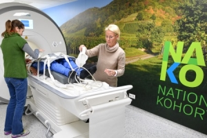 MRT-Untersuchung © NAKO Gesundheitsstudie